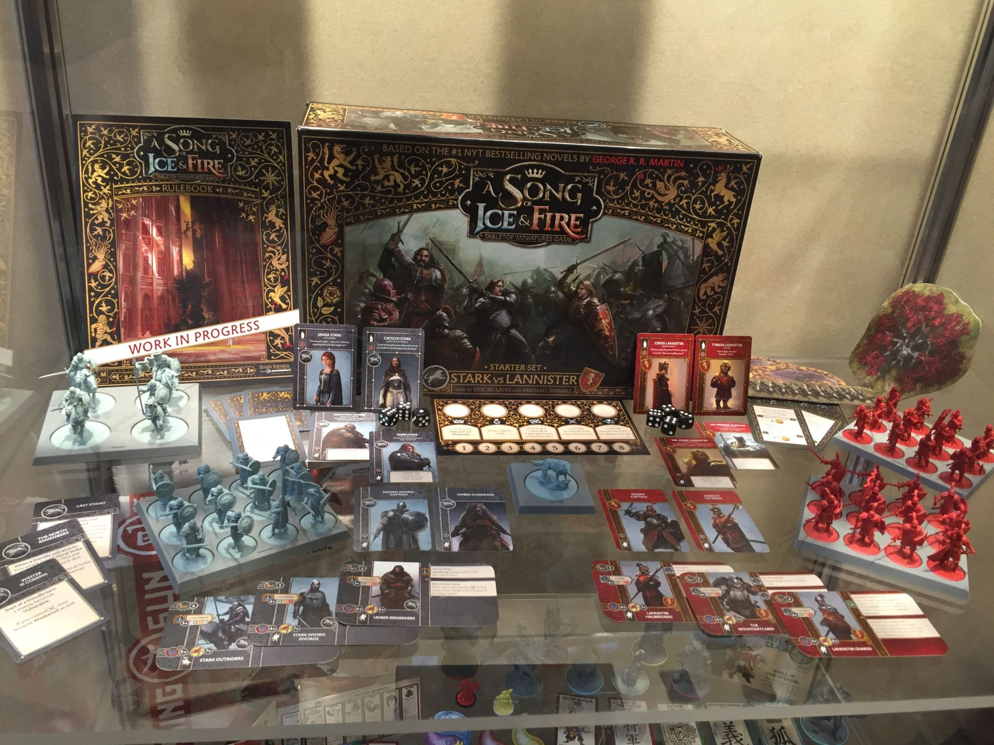 A Song Of Ice Amp Fire Tabletop Miniatures Game Stark Vs